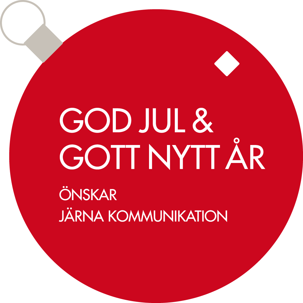 God Jul & Gott Nytt År Järna Kommunikation