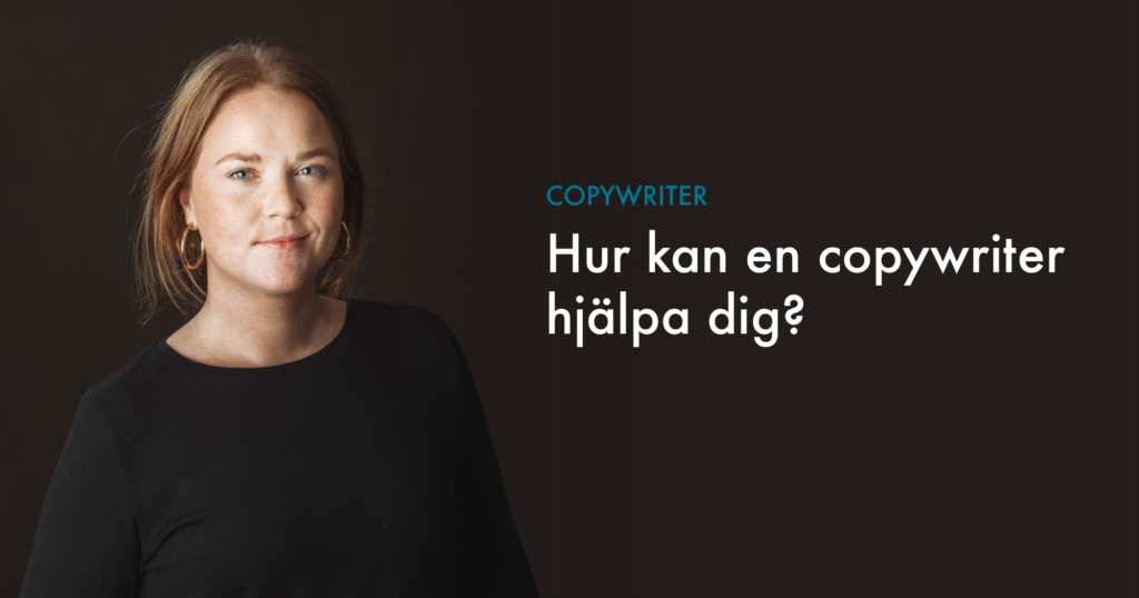 Lisa Gerhardsson copywriter